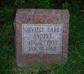 ANDERS, ORVILLE EARE - Ross County, Ohio | ORVILLE EARE ANDERS - Ohio Gravestone Photos