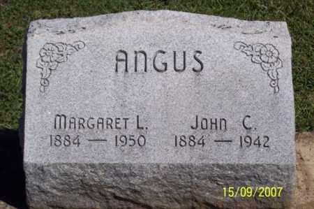 ANGUS, JOHN C. - Ross County, Ohio | JOHN C. ANGUS - Ohio Gravestone Photos