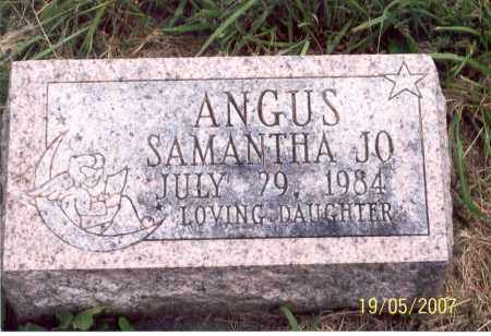 ANGUS, SAMANTHA JO - Ross County, Ohio | SAMANTHA JO ANGUS - Ohio Gravestone Photos