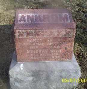 ANKROM, NANCY - Ross County, Ohio | NANCY ANKROM - Ohio Gravestone Photos