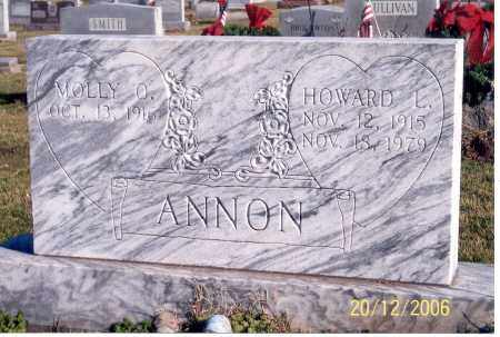ANNON, HOWARD L. - Ross County, Ohio | HOWARD L. ANNON - Ohio Gravestone Photos