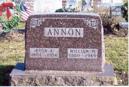 ANNON, WILLIAM M. - Ross County, Ohio | WILLIAM M. ANNON - Ohio Gravestone Photos