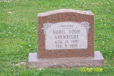 COON ARKWRIGHT, DORIS - Ross County, Ohio | DORIS COON ARKWRIGHT - Ohio Gravestone Photos