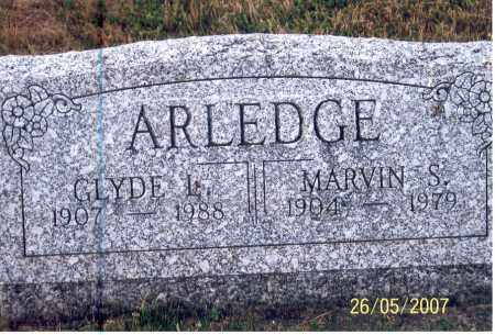 ARLEDGE, CLYDE L. - Ross County, Ohio | CLYDE L. ARLEDGE - Ohio Gravestone Photos