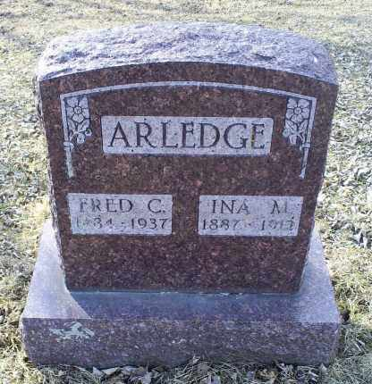 ARLEDGE, FRED C. - Ross County, Ohio | FRED C. ARLEDGE - Ohio Gravestone Photos