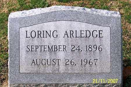 ARLEDGE, LORING - Ross County, Ohio | LORING ARLEDGE - Ohio Gravestone Photos