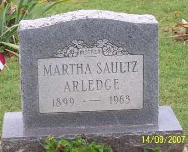 ARLEDGE, MARTHA - Ross County, Ohio | MARTHA ARLEDGE - Ohio Gravestone Photos