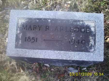 ARLEDGE, MARY R. - Ross County, Ohio | MARY R. ARLEDGE - Ohio Gravestone Photos