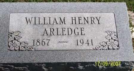 ARLEDGE, WILLIAM HENRY - Ross County, Ohio | WILLIAM HENRY ARLEDGE - Ohio Gravestone Photos