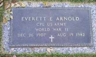 ARNOLD, EVERETT E. - Ross County, Ohio | EVERETT E. ARNOLD - Ohio Gravestone Photos