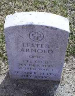 ARNOLD, LESTER - Ross County, Ohio | LESTER ARNOLD - Ohio Gravestone Photos