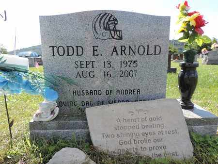 ARNOLD, TODD E. - Ross County, Ohio | TODD E. ARNOLD - Ohio Gravestone Photos