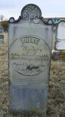 ARROWSMITH, PHEBE - Ross County, Ohio | PHEBE ARROWSMITH - Ohio Gravestone Photos