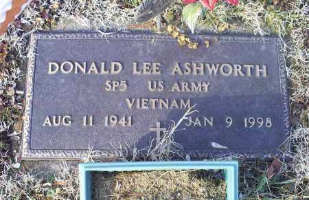 ASHWORTH, DONALD LEE - Ross County, Ohio | DONALD LEE ASHWORTH - Ohio Gravestone Photos