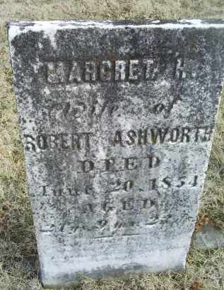 ASHWORTH, MARGRET A. - Ross County, Ohio | MARGRET A. ASHWORTH - Ohio Gravestone Photos