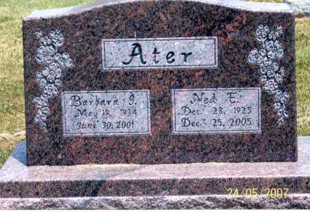 ATER, NED E. - Ross County, Ohio | NED E. ATER - Ohio Gravestone Photos