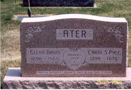 ATER, CAROL S. - Ross County, Ohio | CAROL S. ATER - Ohio Gravestone Photos