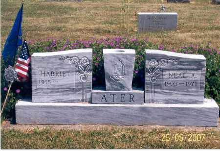 ATER, NEAL A. - Ross County, Ohio | NEAL A. ATER - Ohio Gravestone Photos