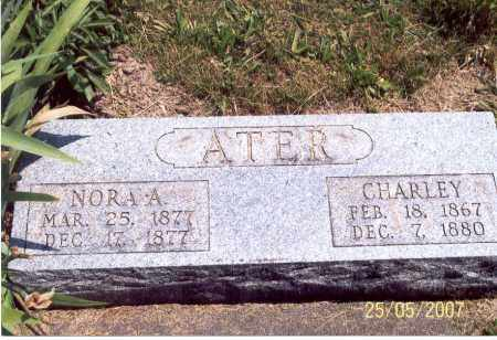 ATER, CHARLEY - Ross County, Ohio | CHARLEY ATER - Ohio Gravestone Photos