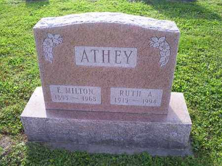 ATHEY, RUTH A. - Ross County, Ohio | RUTH A. ATHEY - Ohio Gravestone Photos