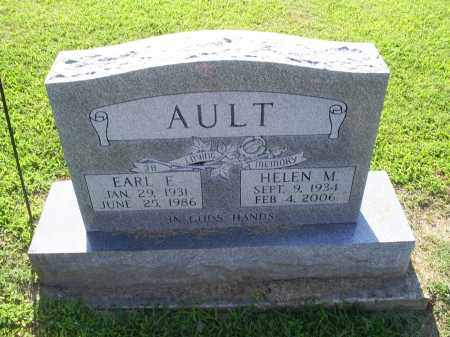 AULT, EARL E. - Ross County, Ohio | EARL E. AULT - Ohio Gravestone Photos