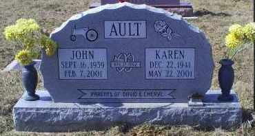 AULT, KAREN - Ross County, Ohio | KAREN AULT - Ohio Gravestone Photos