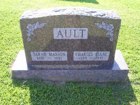 AULT, CHARLES ISAAC - Ross County, Ohio | CHARLES ISAAC AULT - Ohio Gravestone Photos