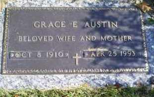 AUSTIN, GRACE E. - Ross County, Ohio | GRACE E. AUSTIN - Ohio Gravestone Photos