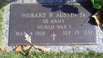 AUSTIN, HOBART P. SR. - Ross County, Ohio | HOBART P. SR. AUSTIN - Ohio Gravestone Photos