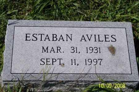 AVILES, ESTABAN - Ross County, Ohio | ESTABAN AVILES - Ohio Gravestone Photos