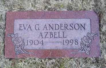 AZBELL, EVA G. - Ross County, Ohio | EVA G. AZBELL - Ohio Gravestone Photos