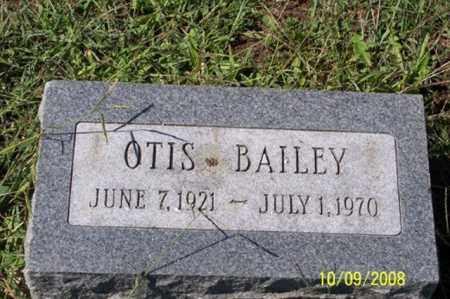 BAILEY, OTIS - Ross County, Ohio   OTIS BAILEY - Ohio Gravestone Photos
