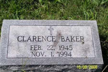 BAKER, CLARENCE - Ross County, Ohio | CLARENCE BAKER - Ohio Gravestone Photos