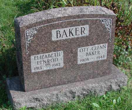 BAKER, ELIZABETH - Ross County, Ohio | ELIZABETH BAKER - Ohio Gravestone Photos