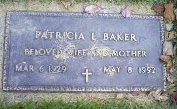 BAKER, PATRICIA L. - Ross County, Ohio | PATRICIA L. BAKER - Ohio Gravestone Photos