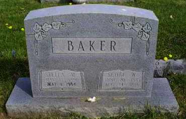 BAKER, STELLA M. - Ross County, Ohio | STELLA M. BAKER - Ohio Gravestone Photos