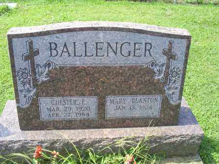 BALLENGER, CHESTER E. - Ross County, Ohio | CHESTER E. BALLENGER - Ohio Gravestone Photos