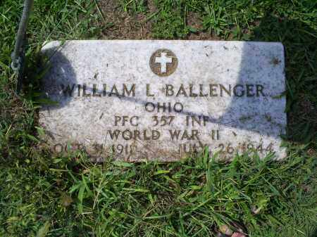 BALLENGER, WILLIAM L. - Ross County, Ohio | WILLIAM L. BALLENGER - Ohio Gravestone Photos