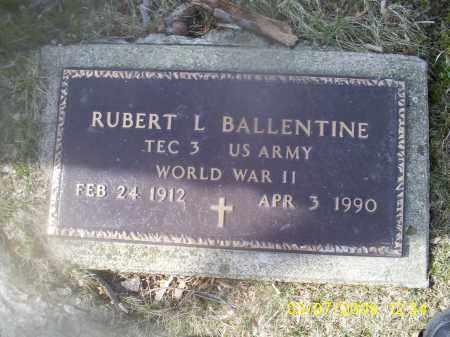 BALLENTINE, RUPERT L. - Ross County, Ohio | RUPERT L. BALLENTINE - Ohio Gravestone Photos