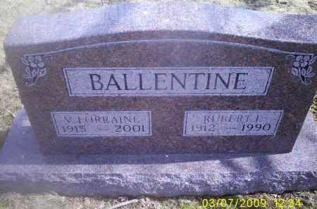 BALLENTINE, V. LORRAINE - Ross County, Ohio | V. LORRAINE BALLENTINE - Ohio Gravestone Photos