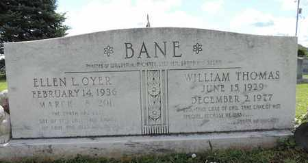 BANE, WILLIAM THOMAS - Ross County, Ohio | WILLIAM THOMAS BANE - Ohio Gravestone Photos