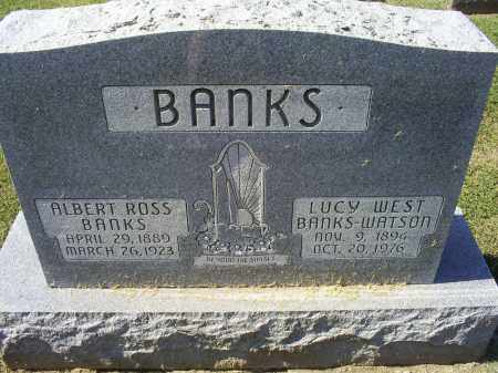 WEST BANKS WATSON, LUCY - Ross County, Ohio | LUCY WEST BANKS WATSON - Ohio Gravestone Photos