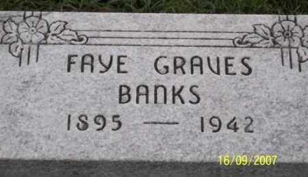 BANKS, FAYE - Ross County, Ohio | FAYE BANKS - Ohio Gravestone Photos