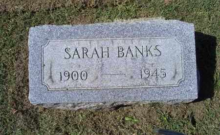 BANKS, SARAH - Ross County, Ohio | SARAH BANKS - Ohio Gravestone Photos