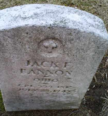 BANNON, JACK E. - Ross County, Ohio | JACK E. BANNON - Ohio Gravestone Photos