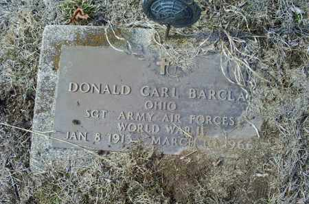 BARCLAY, DONALD CARL - Ross County, Ohio | DONALD CARL BARCLAY - Ohio Gravestone Photos