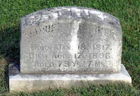 BARKER, SAMUEL O. - Ross County, Ohio   SAMUEL O. BARKER - Ohio Gravestone Photos