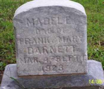 BARNETT, MABEL E. - Ross County, Ohio | MABEL E. BARNETT - Ohio Gravestone Photos