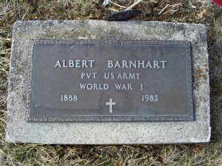 BARNHART, ALBERT - Ross County, Ohio | ALBERT BARNHART - Ohio Gravestone Photos