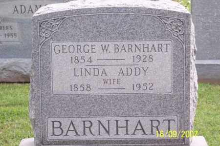 ADDY BARNHART, LINDA - Ross County, Ohio | LINDA ADDY BARNHART - Ohio Gravestone Photos